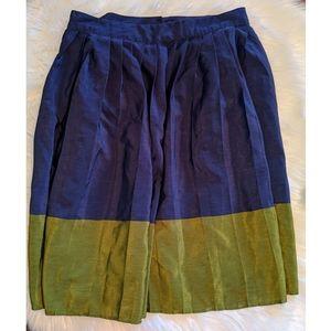 Downeast Navy/Green Skirt